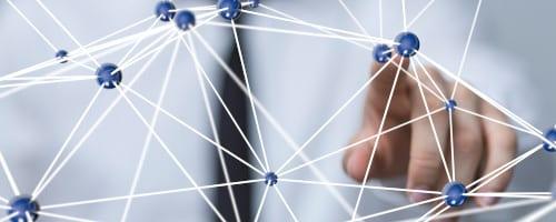 Netzwerk digitales Shopfloor Management